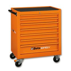 Wózek narzędziowy BETA C040-7 easy-pusty pomarańcz-461
