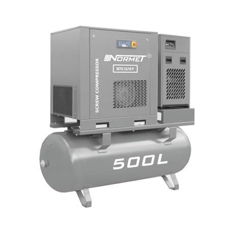 Kompresor śrubowy WALTER SKTG 15KW 500L COMBO-714