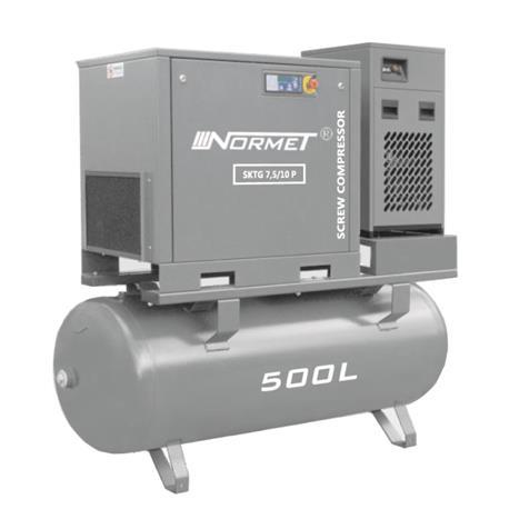 Kompresor śrubowy WALTER SKTG  7,5KW 500L COMBO-715
