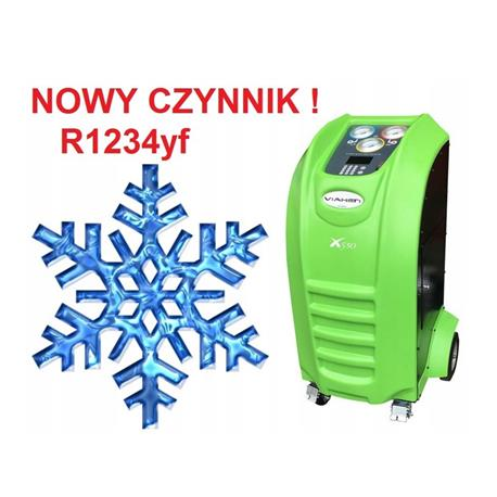 Stacja klimatyzacji X530 viaken R1234YF-1491