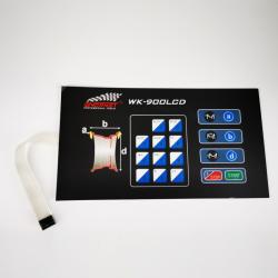 Display panel for the WK-650 Balancer